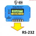 CS-232 Salida Serial RS-232 TTL para Fasealert-3 Digital y Pump Monitor