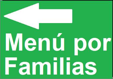 Menu por Familias
