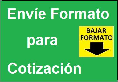 Llenar Formato Cotización