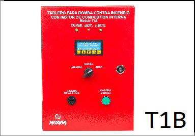 Incendio Combustión Interna 1 Batería T1B